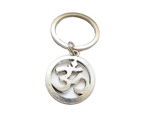 Om, Ohm, Aum, Sanskrit Symbol, llavero, llavero, bolsa de ...