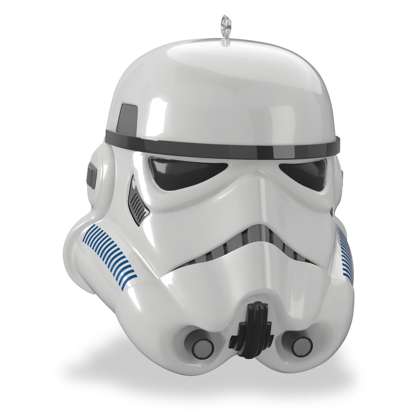 Hallmark Keepsake Star Wars Imperial Stormtrooper Helmet Ornament With Sound