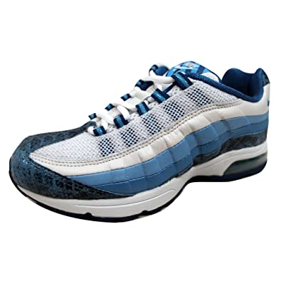 brand new be0a5 48a0a Nike Women s Air Max 95 Zen White Blue-Blue Frost-Ice Blue 313866