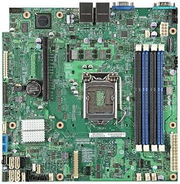 Intel S1200V3RPO Micro ATX Placa Base para - Servidor (Micro ATX, Servidor, 1U Rack, Intel, E3-1200, DDR3-SDRAM): Amazon.es: Informática