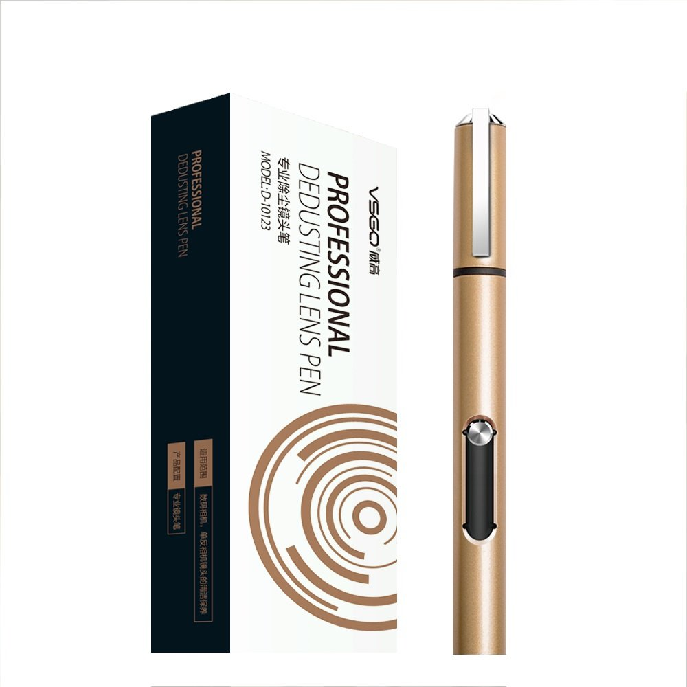 VSGO D-10123 High End Luxury Golden Lens Pen: Make a Difference in Your Camera Cleaning Process by VSGO