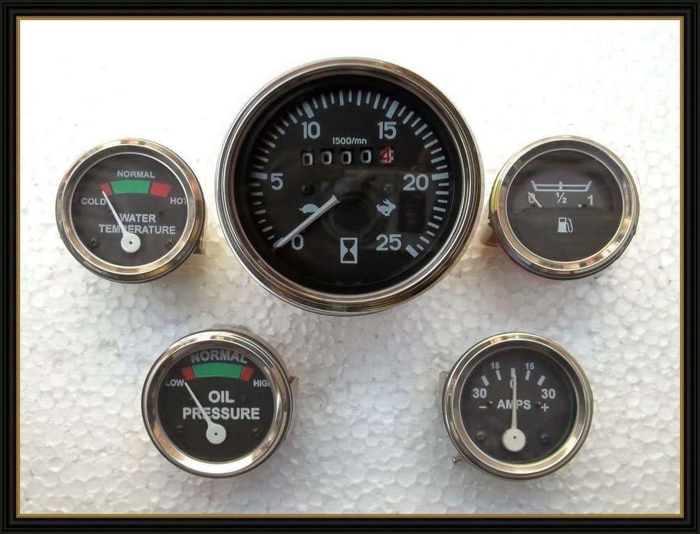 30 Pound Oil Pressure Gauge Tractor Industrial Auto