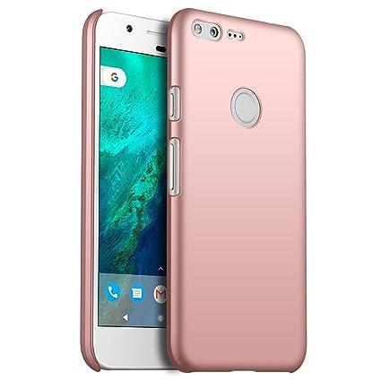 detailed look 942cd 5fac4 Google Pixel Case, ZUERCONG [Smooth Series] Ultra-Thin Slim  Anti-Fingerprints Anti-Scratch Anti-Drop Shockproof Hard Plastic Protective  Back Phone ...