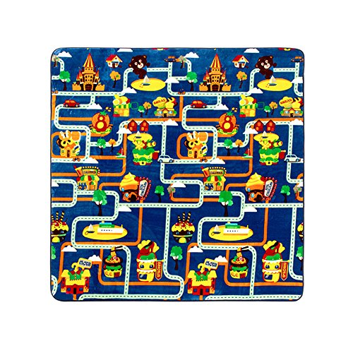 memorecool-cartoon-colorful-city-outline-on-navy-background-baby-anti-sliping-crawling-rugs-living-r