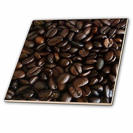 3dRose ct_31063_3 Dark Coffee Beans-Ceramic Tile, 8-Inch