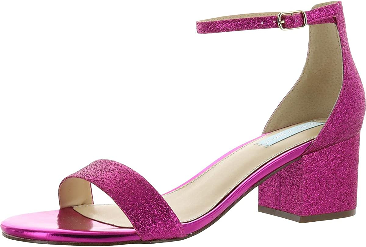 Betsey Johnson Womens Sb-Miri Open Toe Bridal Super sale period limited Ankle Direct sale of manufacturer Strap Sandal