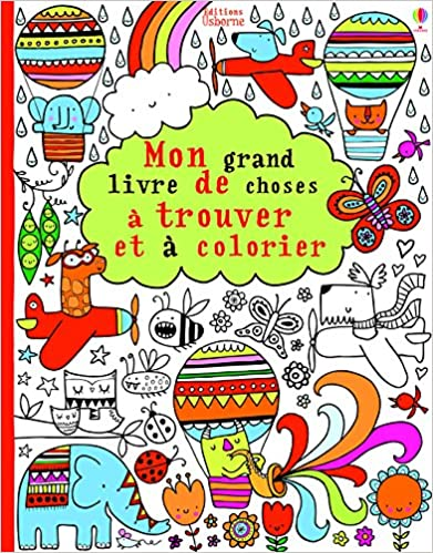 Télécharger en ligne Mon grand livre de choses à trouver et à colorier pdf