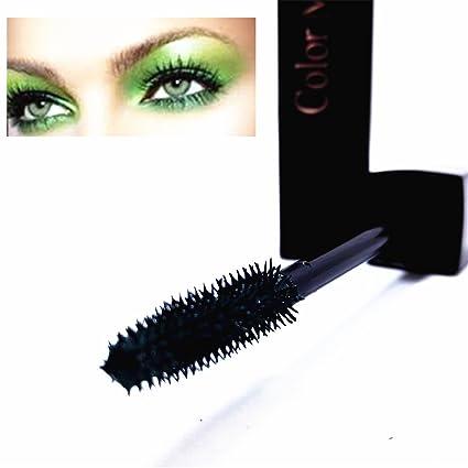 LZC 32g definición Mascara Cils exagérée discothèques maquillaje de escena tinte Cejas – Verde Oscuro