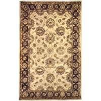Linon Rosedown Collection Natural Fiber Rugs, 110 x 210, Pale Gold