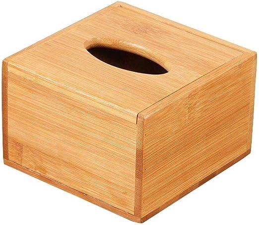 Depory - 1 Caja de pañuelos de Madera para servilletas de Papel ...