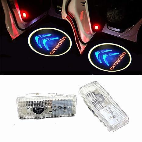 XIUJINGHONG Autot/ür Logo Einstiegsbeleuchtung T/ürbeleuchtung Einstiegsleuchte Projektion Licht 2 St/ück