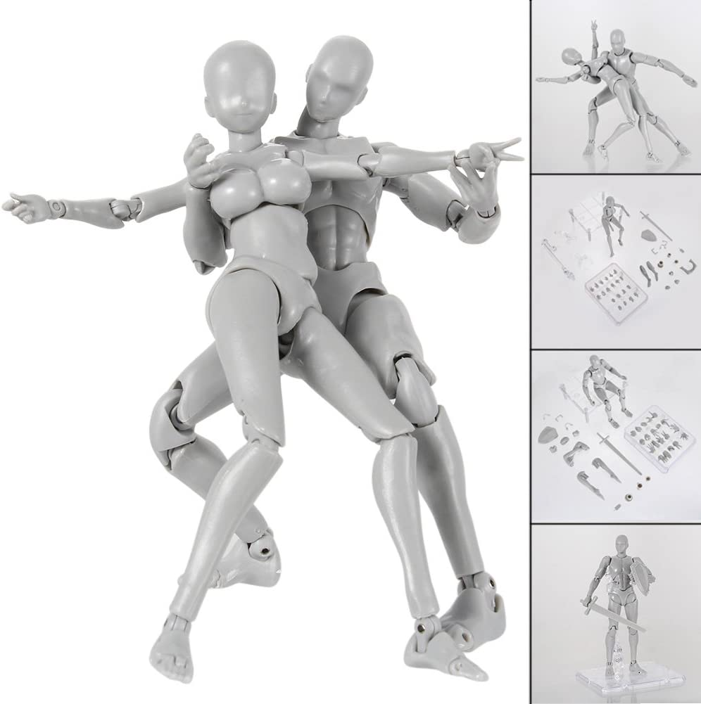 Starmood Figura de acci/ón Modelo para SHF Body Kun Doll PVC Body-Chan DX Set 2.0