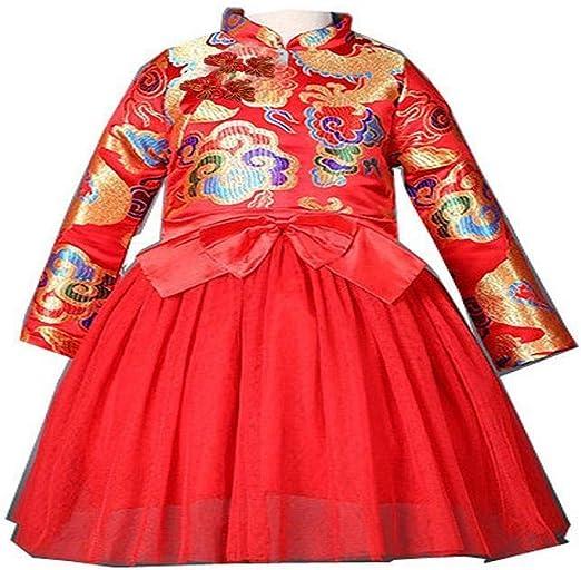 Vestiti Cerimonia Cinesi.Firally Vestito Di Ragazze Tang Vestito Vestito Di Stile Cinese