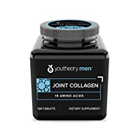 Youtheory Joint Collagen for Men – Hydrolyzed Collagen + Plant Based Joint Blend, 120 Tablets