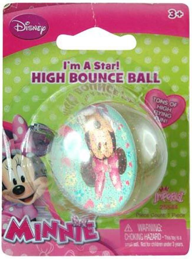 Producto oficial de alta rebote pelota, Minnie: Amazon.es ...