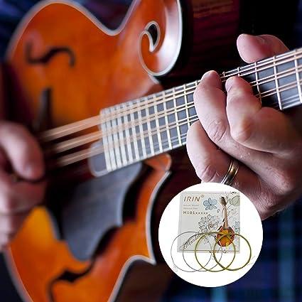 Studyset IRIN M101 - Juego de cuerdas para mandolina (acero ...