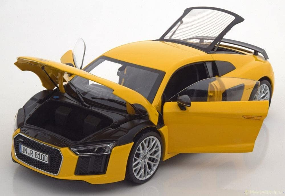Audi R8 V10 Plus Coupé Green 1:18 Kyosho Dealer Pack MODELLAUTO DIECAST 18425