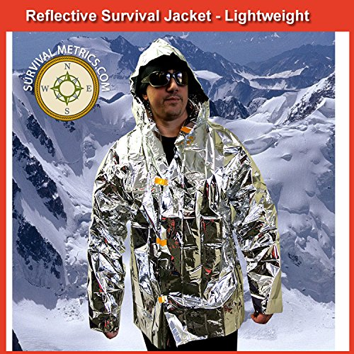 Lightweight Reflective Survival Jacket Emergencies