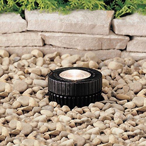 Cheap Kichler 15190BK In-Ground 1-Light 12V, Black Material (Not Painted)