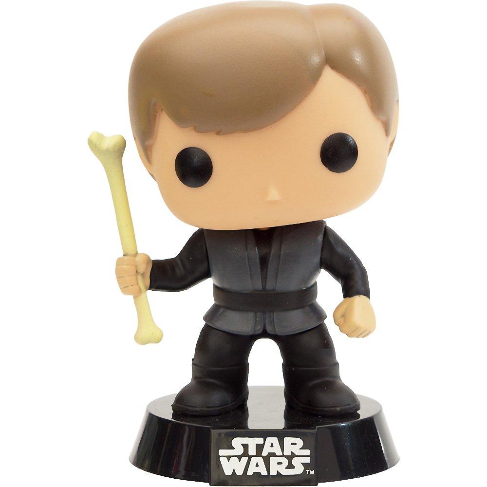 Luke Skywalker Slave Oola Preview Exclusive BCC9R8094 1 FREE Official Star Wars Trading Card Bundle x Star Wars Vinyl Bobble-Head Figure w// Stand : Funko POP 50467 ~6 Rancor