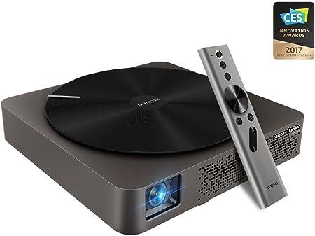 Xgimi official Z4 Aurora *Screenless TV * Centro de entretenimiento del futuro LED proyector Home Cinema 3D con Harman / Kardon personalizado estereo, control por gestos, y Android OS: Amazon.es: Electrónica