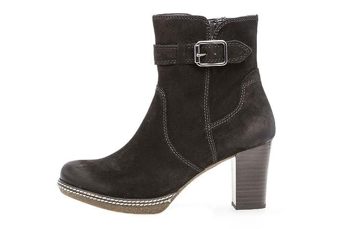 Gabor Comfort Sport Stiefeletten in Übergrößen Schwarz 92.874.47 große  Damenschuhe  Amazon.de  Schuhe   Handtaschen bbbec25284