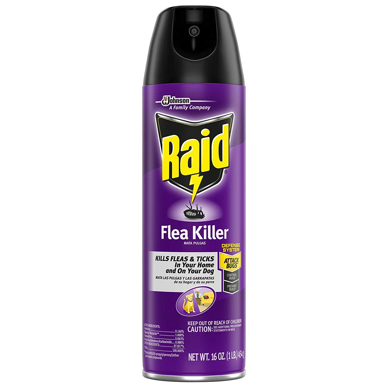 Raid Flea Killer, 16 OZ (6) by Raid