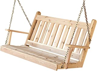 product image for Cedar 5' Traditional English Swing, Mushroom Stain