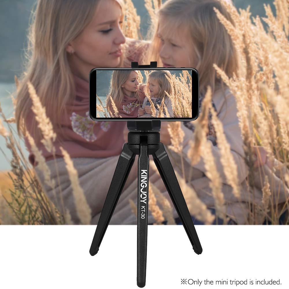 5.5lb for DSLR Camera Cellphone Gopro Mini Tabletop Tripod Desktop Tabletop Lightweight Portable Aluminum Alloy Stand Max Payload 2.5kg