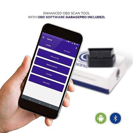 CaRPM Garage Pro Android Bluetooth OBD Scanner