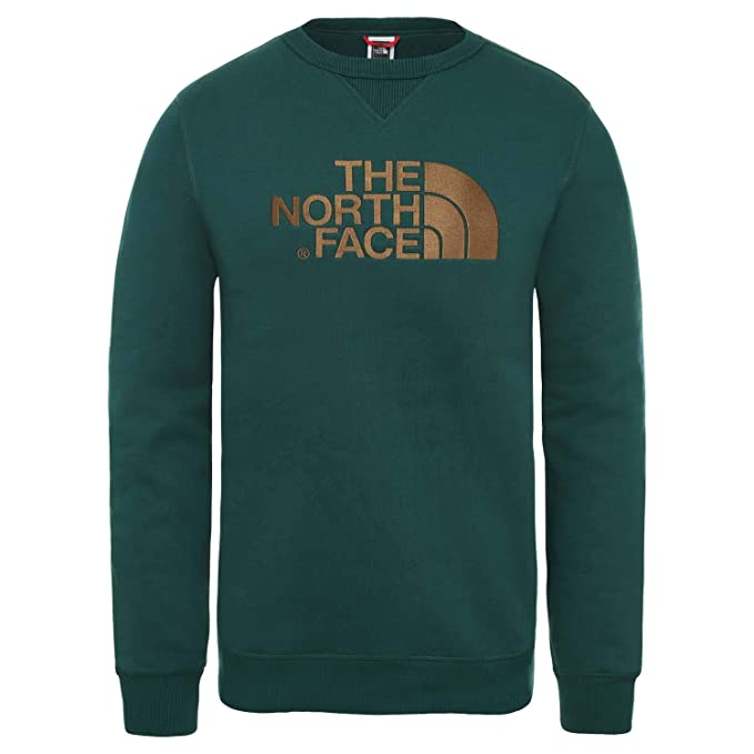 The North Face Drew Peak Crew Sweater oliv