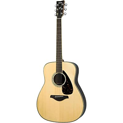 Yamaha FG730S Solid Top Acoustic Guitar - Rosewood, Natural