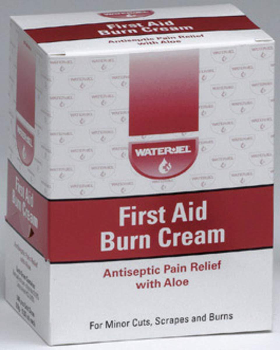 Water-Jel Technologies .9 Gram Water-Jel Technologies Burn Cream, 12 Box/Case by WaterJel Technologies