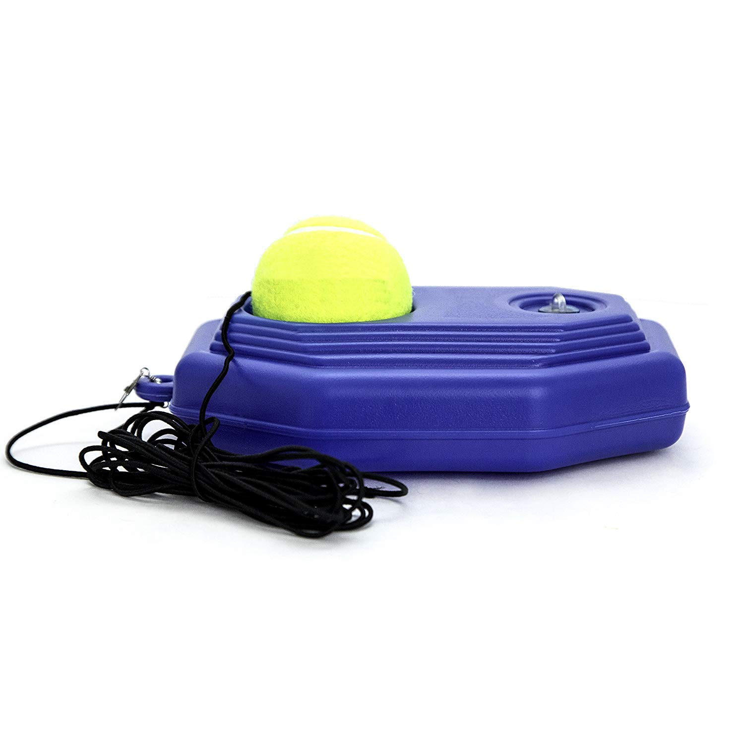 WHPH Tennis Trainer Rebounder Ball | Baseboard with Rope Solo Equipment Practice Training Aid Serve Hopper Sport Exercise Base Powerbase Self-Study Rebound Power Base Rebounder Pro