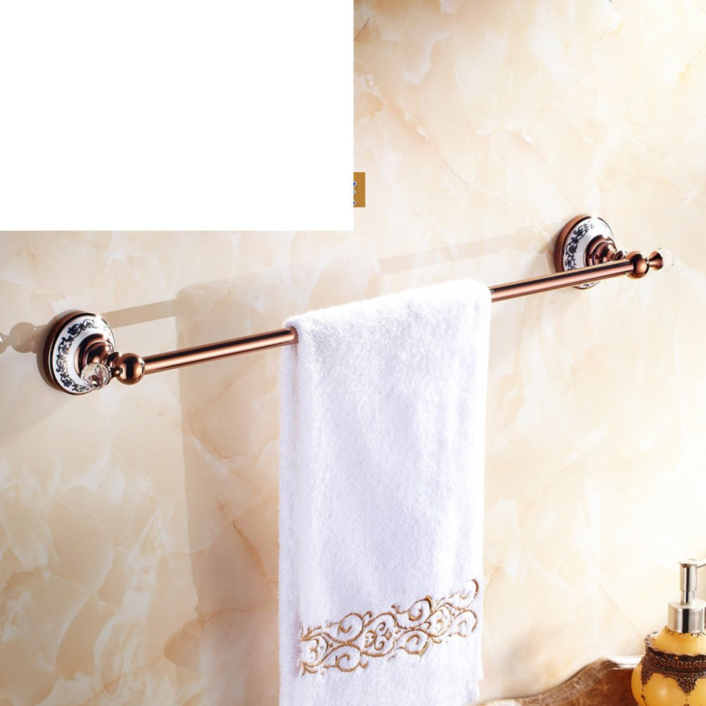 Free Shipping Rose Gold Towel Rail Antique Copper Towel Bar Bathroom Towel Rack Towel Bar Towel