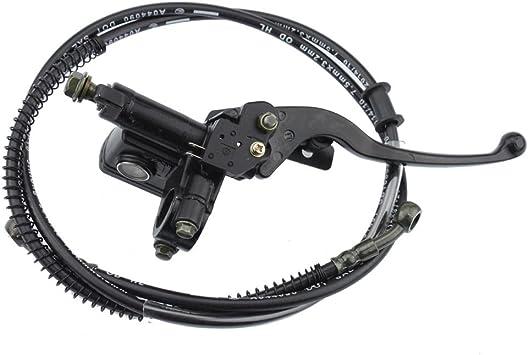 Goofit 22mm Bremshebel Griff Mit Kabel Für Hydraulische Bremse Hauptbremszylinder Für 50cc 70cc 90cc 110cc 125cc 150cc Chinesisch Atv Quad Auto