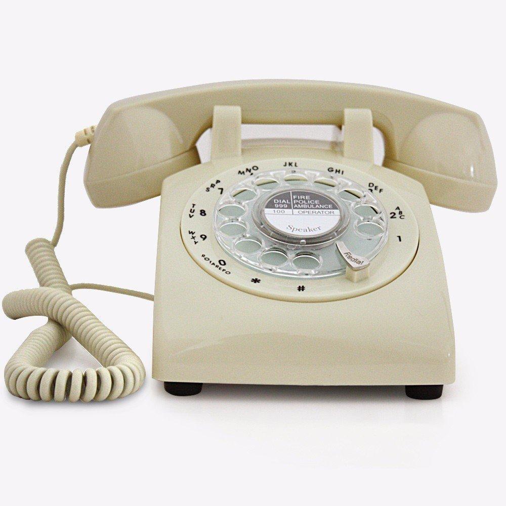 Vintage Retro Teléfono Tocadiscos antiguo clásico retro teléfonos ...