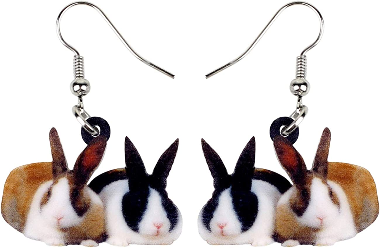 necklace 45mm Natural Real Rabbit Fur with Triangle Pom pom Tassel supply for earrings 2 pcs N-gray Bunny