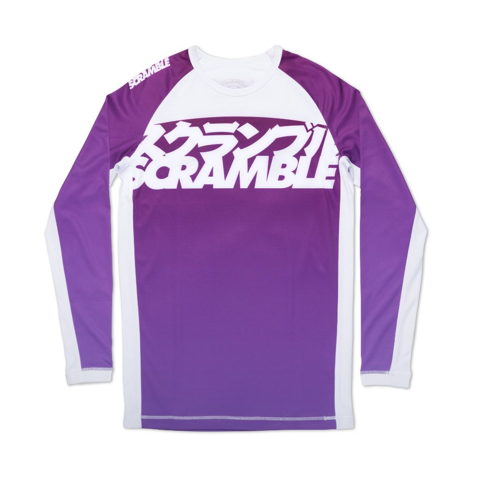 Scramble Ranked Rashguard V3 - Purple