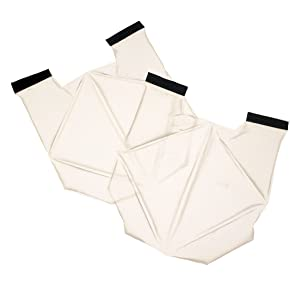 Bullard ISO2P Arc Flash Cooling Vest Replacement Packs, White, One Size