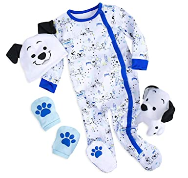 Amazon.com: Disney 101 Dalmatians Gift Set Baby - Blue Size Newborn ...