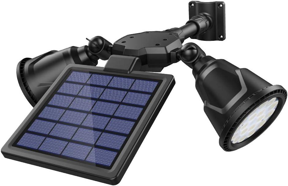 DBF solar motion sensor light