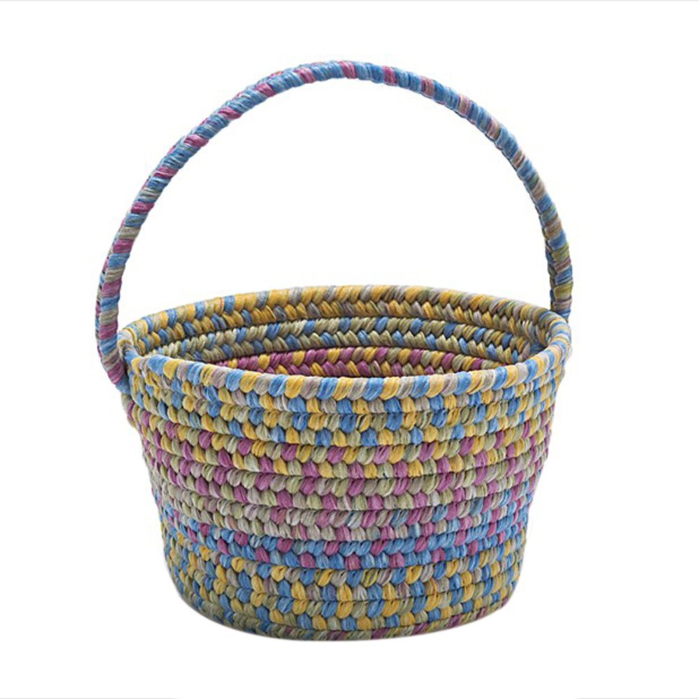 Colonial Mills Easter Home Decorative Spring Mix Basket Multi - 8x12x7, NEW