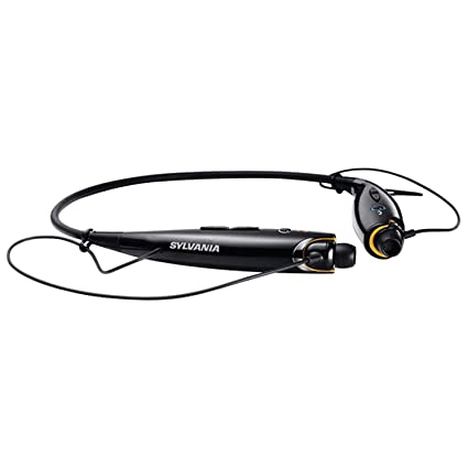 9754cb007fa Amazon.com: Sylvania Sports Style Bluetooth Headphones, (Black): Home Audio  & Theater
