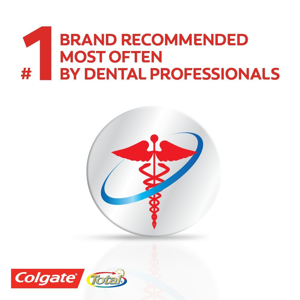 Colgate Total Advanced Fresh + Whitening Gel Toothpaste - 5.8 ounce (24 Pack) by Colgate (Image #5)