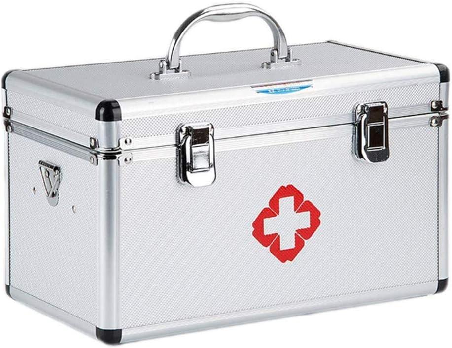 Caja de medicinas Caja de medicinas Caja de almacenamiento grande para el hogar Caja de primeros auxilios portátil ...