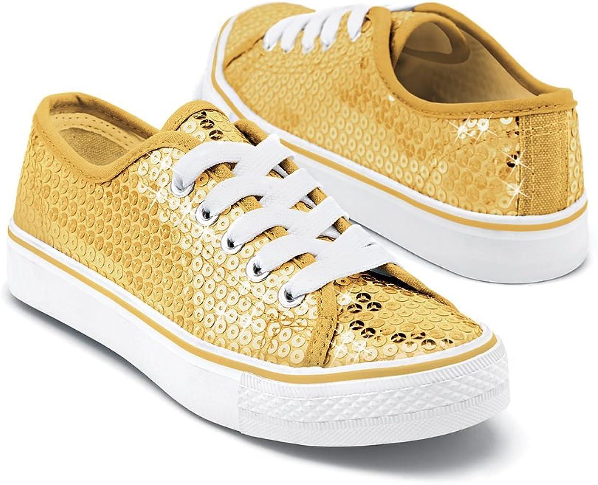 Balera Sequin Low Top Dance Sneakers