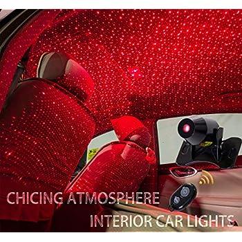Amazon Com Car Atmosphere Light Fanshu Sound Voice