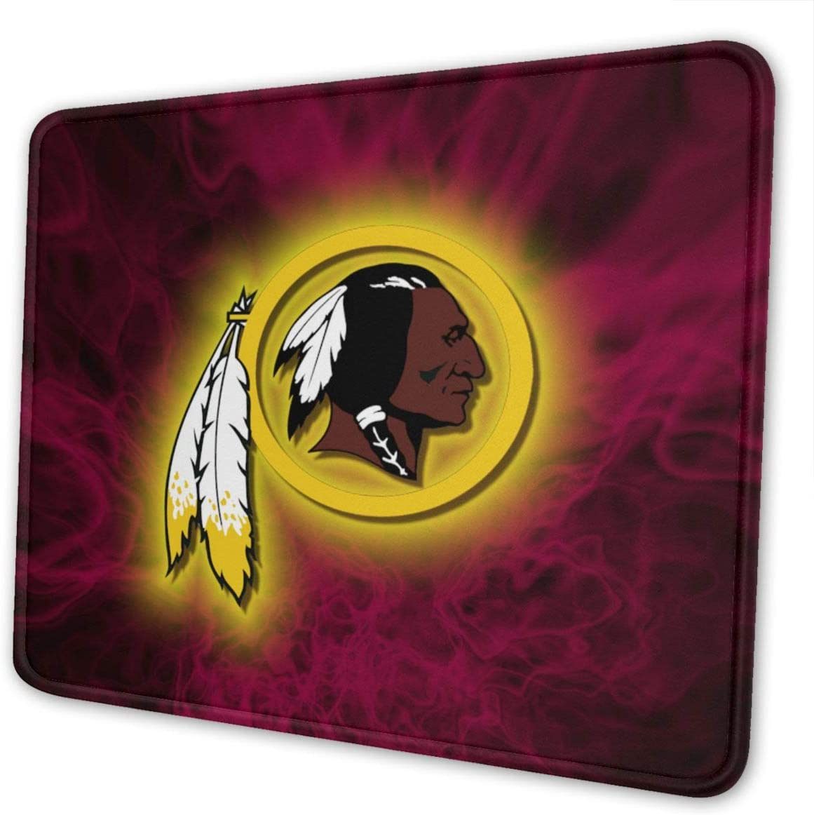 Washington Reds/&kins Premium-Textured Mouse Pad with Stitched Edge Non-Slip Rubber Base Mousepad for Laptop 4 Sizes Computer /& PC
