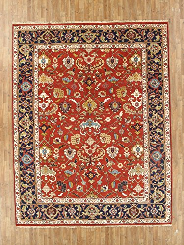 NYC Rugs New 9X12 Wool Hand Knotted 9' X 11'8